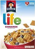 Quaker Life Cereal, Cinnamon, 18 oz