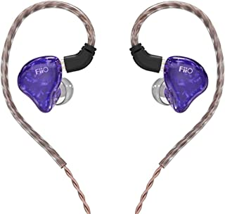 $570 » Hoop Iron in-Ear Ring Hoop one Iron Two Unit HiFi Monitor Ear Hook Music earplugs high Sound Quality bass bass Fever Interchangeable Wired me200 Headphones, Violet