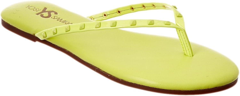 Yosi Samra Women's Roee Studded Flip Flops