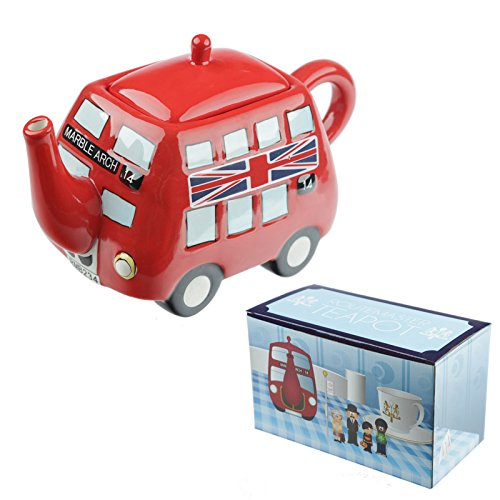 Great gift present idea. Route master London Bus Teapot. A proper cup of tea