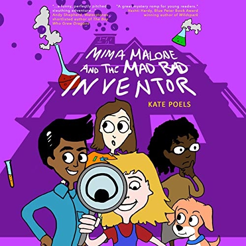 Mima Malone and the Mad Bad Inventor cover art