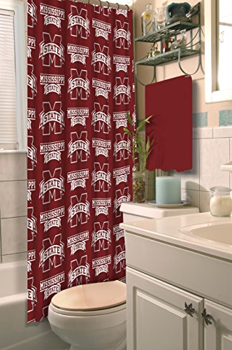 NCAA Mississippi State Bulldogs Shower Curtain