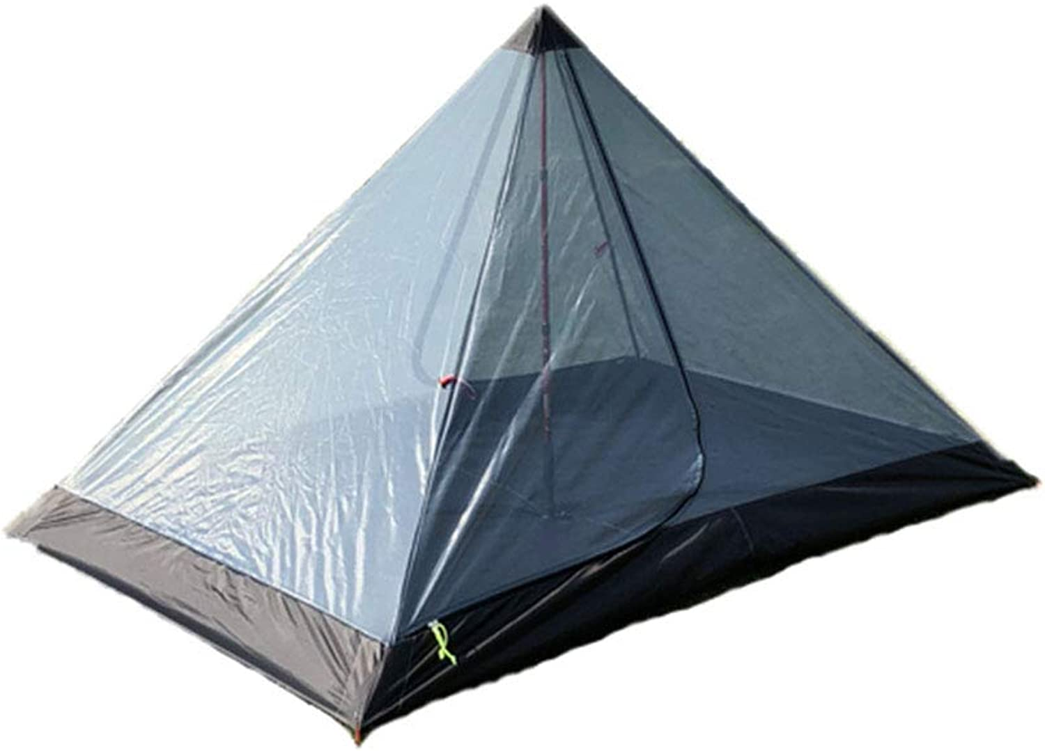 Mesh Tent A Type Pyramid Mosquito Shelter Outdoor Ultralight 2 Person Perfect for Camping Backpacking Hiking (Trekking Pole is Not Included)