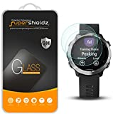 (2 Pack) Supershieldz Designed for Garmin Forerunner 645 and Forerunner 645 Music Tempered Glass Screen Protector, Anti Scratch, Bubble Free