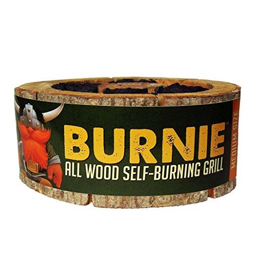 Burnie Grill: All Wood Self-Burning Grill - Medium