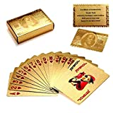 Luxurious 24K Gold Plated Playing Cards - Make Your Magic Tricks More Fun
