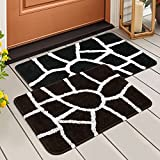 Mat Size 61 x 40 CM (24 x 16 INCH) Made From 100% High Quality Cotton Blend Super-Soft feel & comfort. Soft In Touch,Smooth And Easy To Clean.Perfect for everyday use Usage the multipurpose features of mat can protect your feet from cold floor, be it...