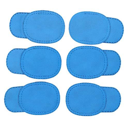ROSENICE 6pcs patch occhio per bambini patch occhio ambliopia per occhiali trattare occhi pigri e strabismo (blu)