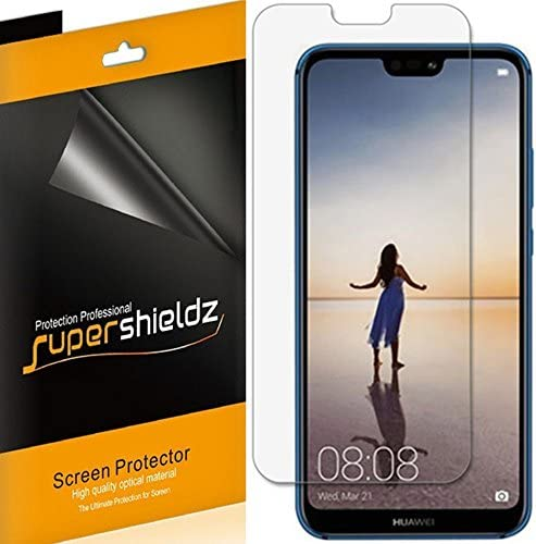 6 Pack Supershieldz for Huawei P20 Lite Screen Protector High Definition Clear Shield PET product image