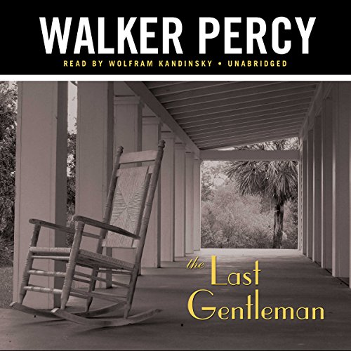 The Last Gentleman audiobook cover art