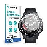 smartect Cristal Templado para Móvil Honor Watch GS Pro [2 Unidades] - Protector de pantalla 9H - Diseño ultrafino - Instalación sin burbujas - Anti-huella