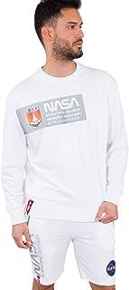 ALPHA INDUSTRIES Men's Mars Reflective Sweater Sweatshirt