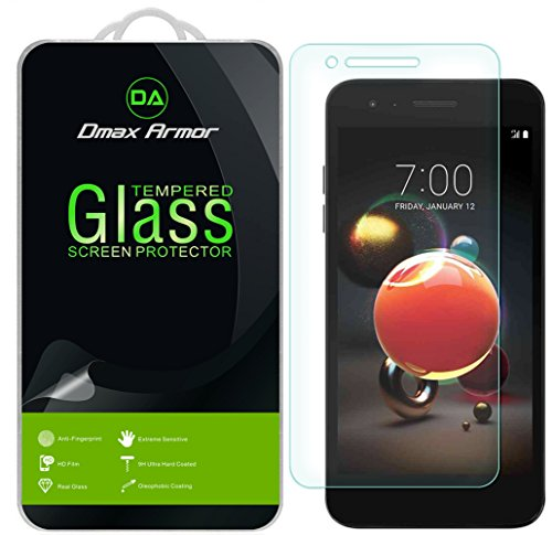 [2-Pack] Dmax Armor for LG K8s / K8 (2018) and K8 Plus (2018) Tempered Glass Screen Protector