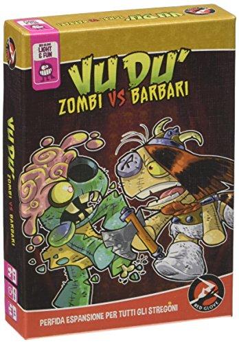 Red Glove- Vudù Zombi VS Barbari-Espansione Vudu' -Gioco in Scatola, RG20323