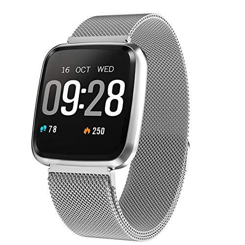 CWGWNXGY Herzfrequenz Fitness Uhr Digital Fashion Smart Watch Damen Herren Schrittzähler Sport Running Watch Elektronik