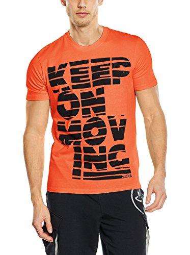 Zumba Camiseta Manga Corta Naranja M