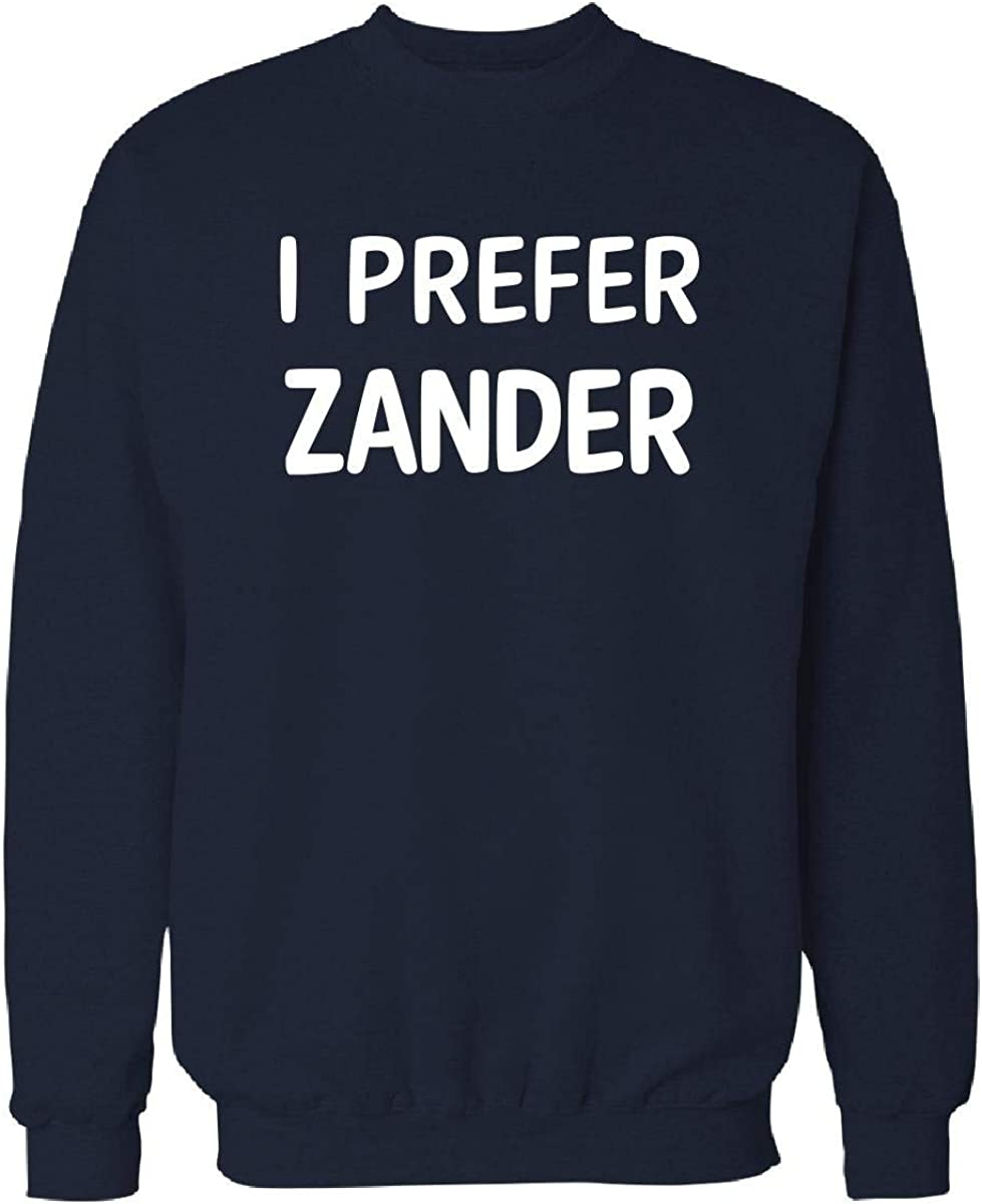 I Prefer Zander Name 2XL Super sale Cheap sale period limited Royal Sweatshirt