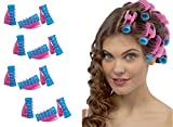 - Takestop - Kit de 12 rulos con pinza para el cabello. Rulos profesionales perfectos para rizar el pelo y para crear peinados y bucles perfectos