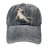 NVJUI JUFOPL Men's & Women's Cute French Bulldog Yoga Baseball Cap Vintage Funny Trucker Dad Hat