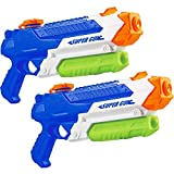 Squirt Water Guns for Boys & Girls - 900CC Super Squirt Guns for Kids Adults-Swimming Pool Toys for Toddlers Age 3-5, Water Fighting for Outdoor, Park & Backyard Playing(2 Pack Blue)