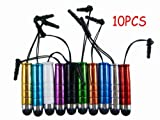 10x Stylus Touch Screen Pen for iPhone 5 4S 4 3GS 3G iPad Mini 2 3 LG Optimus L3