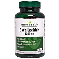 High strength unbleached Lecithin From naturally sourced, non-GM soya beans Take 1-2 softgels per day with food 1200mg Soya Lecithin per softgel Lactose and gluten free Made in the UK to GMP & Pharmaceutical Standards