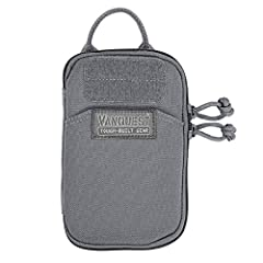 "Size: 4.25"" (W) x 6.5"" (H) x 0.75"" (D) One external & two internal pockets / 10 elastic slots for organization Removeable keychain tether & one 1"" paracord attachment loop Made from 1000-D Cordura coated with DWR (Durable Water Repellent) / Internal ..."