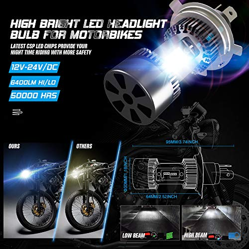 CAR ROVER h4 led headlight bulb motorcycle