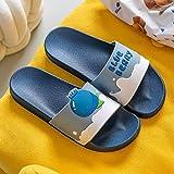 Cxypeng Chanclas Piscina Niña Sandalias,Zapatillas de baño de baño para el hogar de Verano, Lindas Sandalias Antideslizantes de Playa-Azul Profundo J_36-37,Sandalias Zueco de Plataforma para Mujer