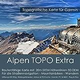 Alpi Garmin Topo 4GB microSD. (Germania Svizzera Italia Austria Francia) topogra pesci GPS tempo libero carta Bicicletta da trekking, escursioni trekking outdoor Navigation dispositivi, PC e Mac
