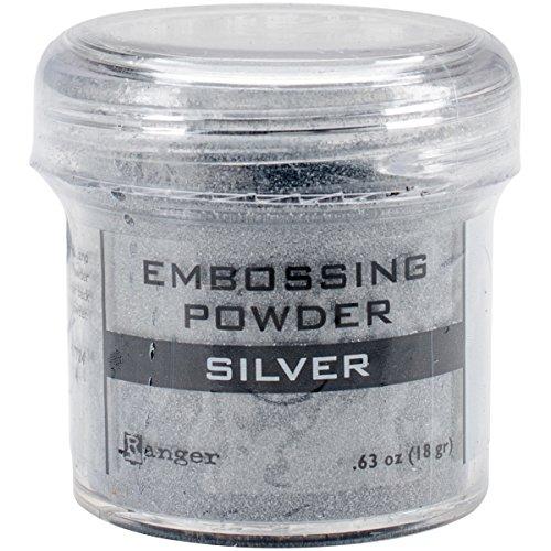 Ranger Silver-Embossing Poudre, Acrylique, Multicolore
