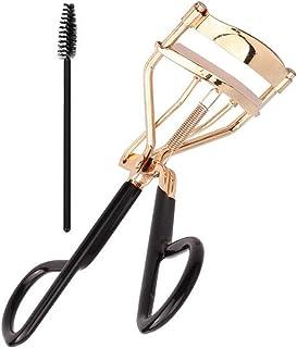 EIAKE Golden T Black Eyelash Curler Tweezers Lash Tweezers Nature Curl Style Extension Curling Clip Twisting Eye Lashes Be...