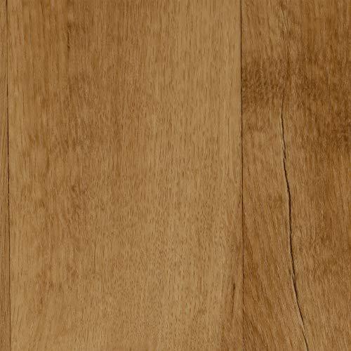 BODENMEISTER BM70555 Vinylboden PVC Bodenbelag Meterware 200, 300, 400 cm breit, Holzoptik Diele Eiche