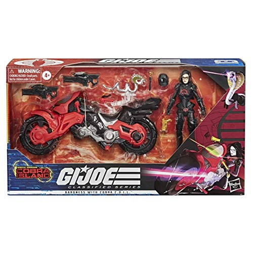 TARGET G.I. Joe Classified Series Exclusive Special Missions: Cobra Island #13 Baroness with Cobra C.O.I.L.