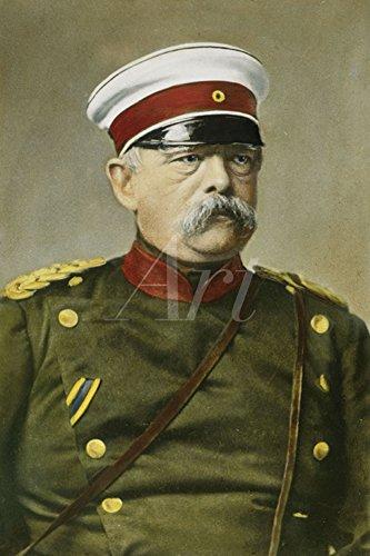 Artland Qualitätsbilder I Wandtattoo Wandsticker Wandaufkleber 40 x 60 cm Menschen historische Persönlichkeiten Malerei Grün B9QP Otto von Bismarck