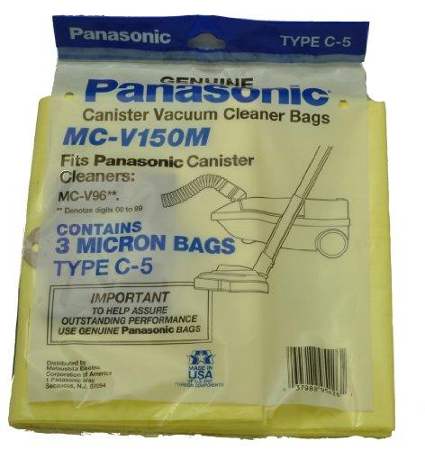 Panasonic MC-v150M Canister Vacuum Cleaner Type C-5 Vacuum Cleaner Bags