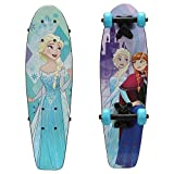 PlayWheels Frozen 21' Wood Cruiser Skateboard, Sister Love