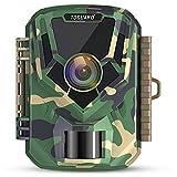 TOGUARD Mini Wildkamera FHD 1080P 12MP Jagdkamera mit IR Nachtsicht, 2 Zoll LCD Bildschirm Klein Jagdfalle Kamera 120° Weiter Winkel Wasserdicht Bewegungsmelder