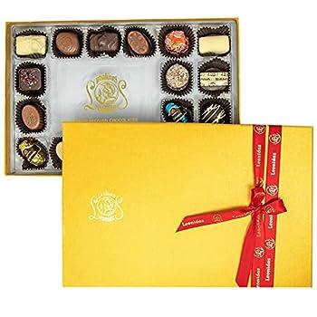 Leonidas Belgian Chocolate Rectangular Gift Box – 18 pcs – Belgium Assorted Chocolate Rectangular Box Gourmet Gift