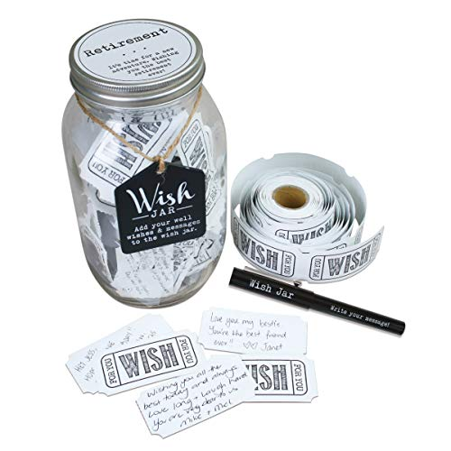Top Shelf Retirement Wish Jar...