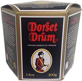 Dorset Drum Cheddar Cheese - 14 oz (Pack of 6)