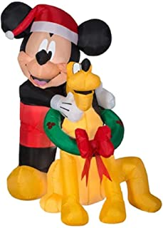 Best mickey mouse blow up christmas decorations Reviews