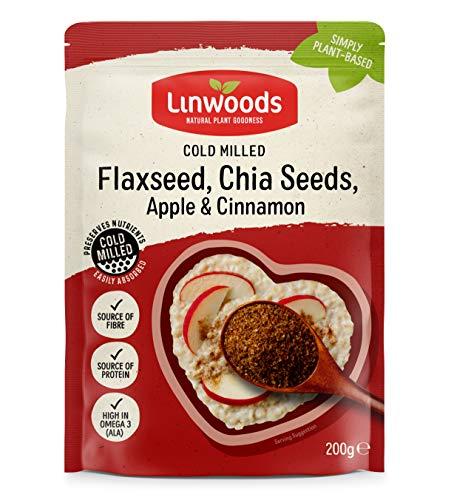 Linwoods Semillas De Lino Eco Con Chia Manzana Y Canela Mol Envase De 200 Gramos 200 ml