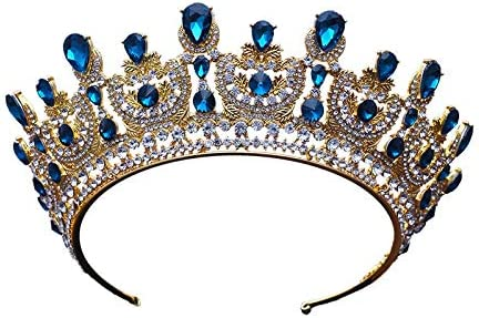 YYQ Bride Baroque Alloy Crown mart Wedding Quee Recommended Style Headdress