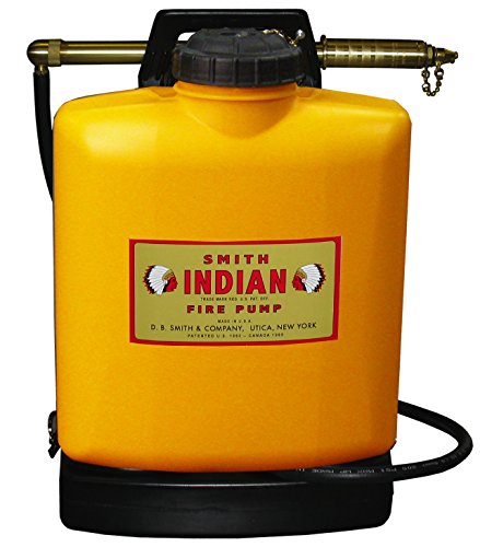 Indian 190191 FER500 Poly Tank Fire Pump, 5-Gallon, Orange