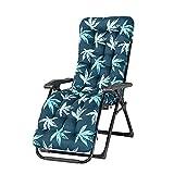 Cojín para silla de sol engrosado, con estampado de Amazon Hot Style Home Reclinable Cojín de silla mecedora Cojín de mimbre para ventana de la bahía