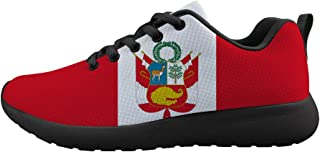 Owaheson Boys Girls Casual Lace-up Sneakers Running Shoes Nicaragua Flag