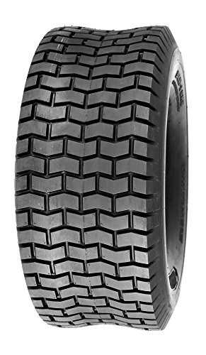 Deli Tire S-365, Turf Tire, 4 Ply Rating, Tubeless, Lawn and Garden Tire (15x6.00-6)