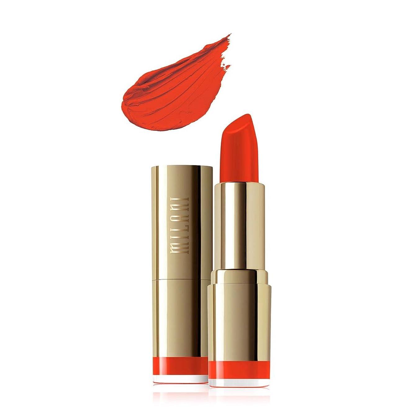 慰めピニオン機関車MILANI Color Statement Moisture Matte Lipstick - Matte Passion (Vegan) (並行輸入品)