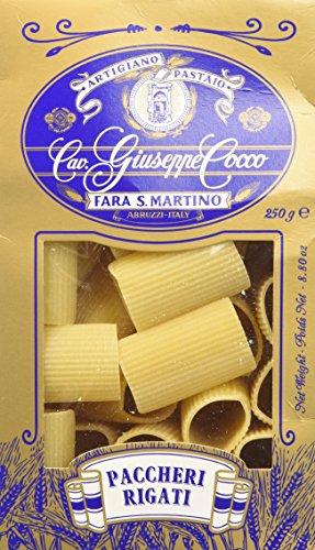 Artigiano Pastaio Formato Paccheri Rigati N.76 Cavalier Giuseppe Cocco Fara San Martino Abruzzo - 250 g